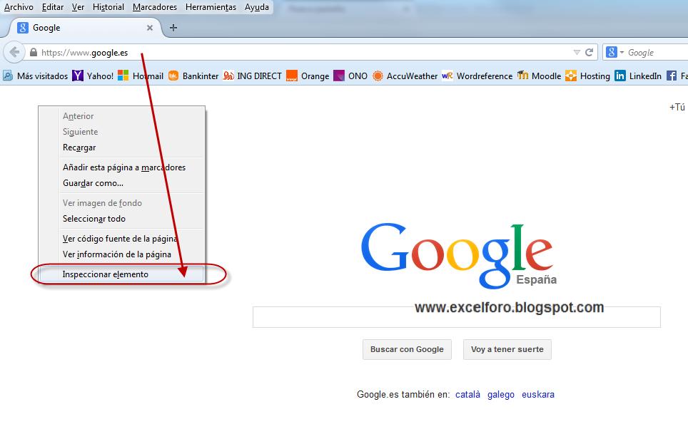 Vba Rellenando Un Formulario Web Html Desde Excel