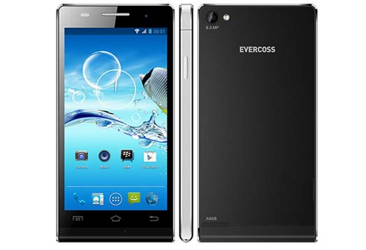 "Harga Evercoss A66B, Spesifikasi Android Jelly Bean IPS LCD 4.7"" RAM 1 GB"