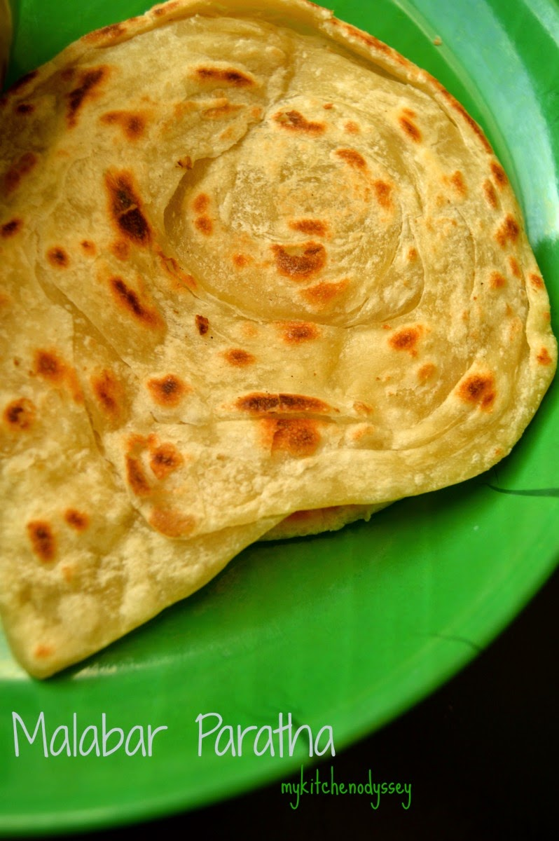Parotta ready to be served