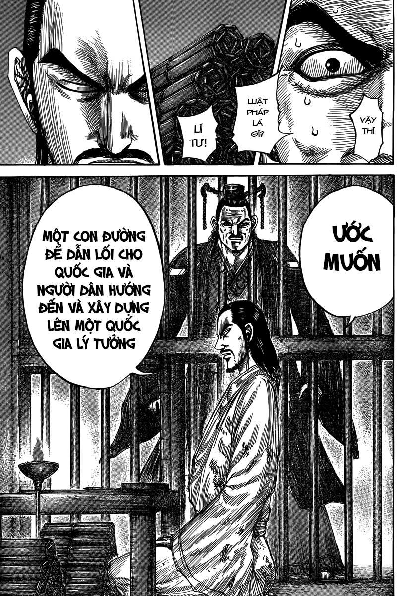 Kingdom – Vương Giả Thiên Hạ chap 494 Trang 17