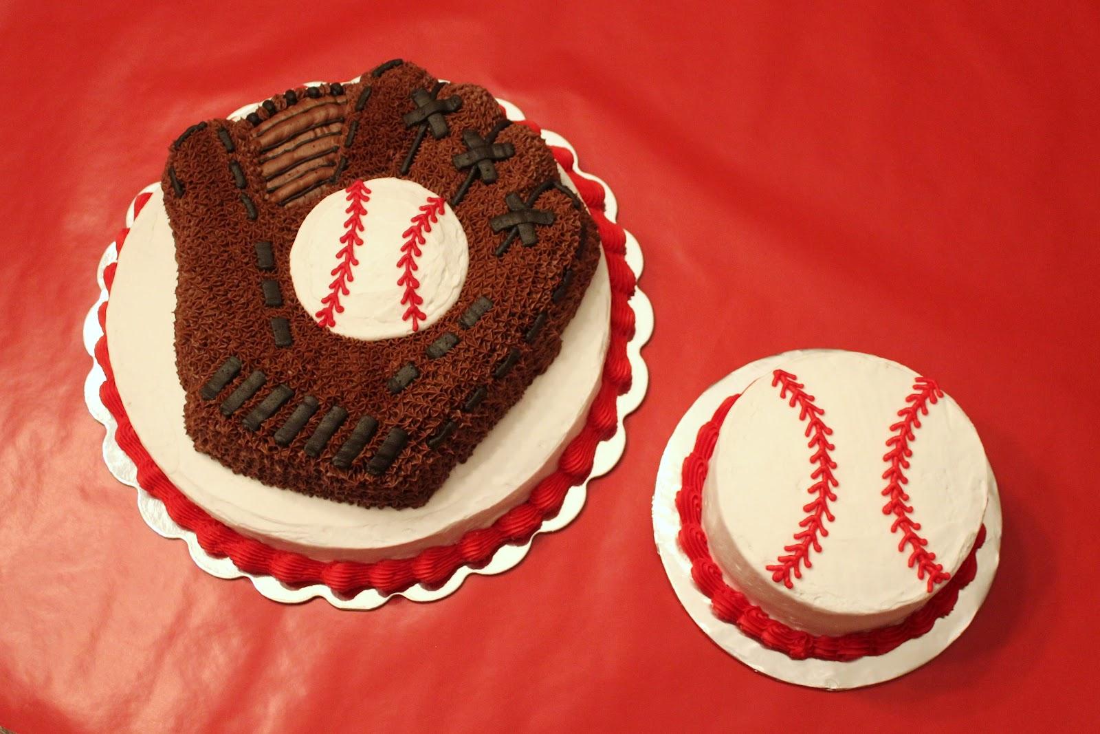 Say It Sweetly Baseball Birthday Cake Smash Cake