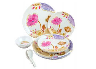 Buy Attractive Melamine Dinner (Set of 12 pcs) at Rs. 199 only