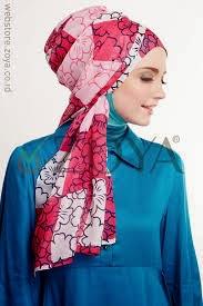 jenis jilbab selendang modern