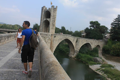 Medieval bridge of Besalú
