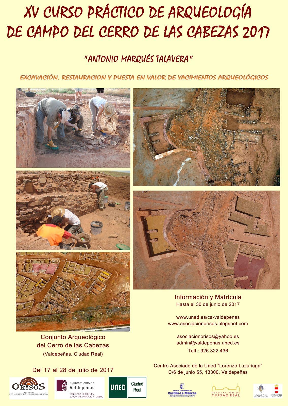 XV Curso práctico de Arqueología de Campo