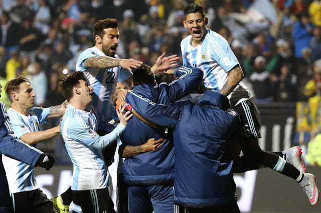 argentina colombia - cuartos de final copa america 2015 - copa america chile 2015