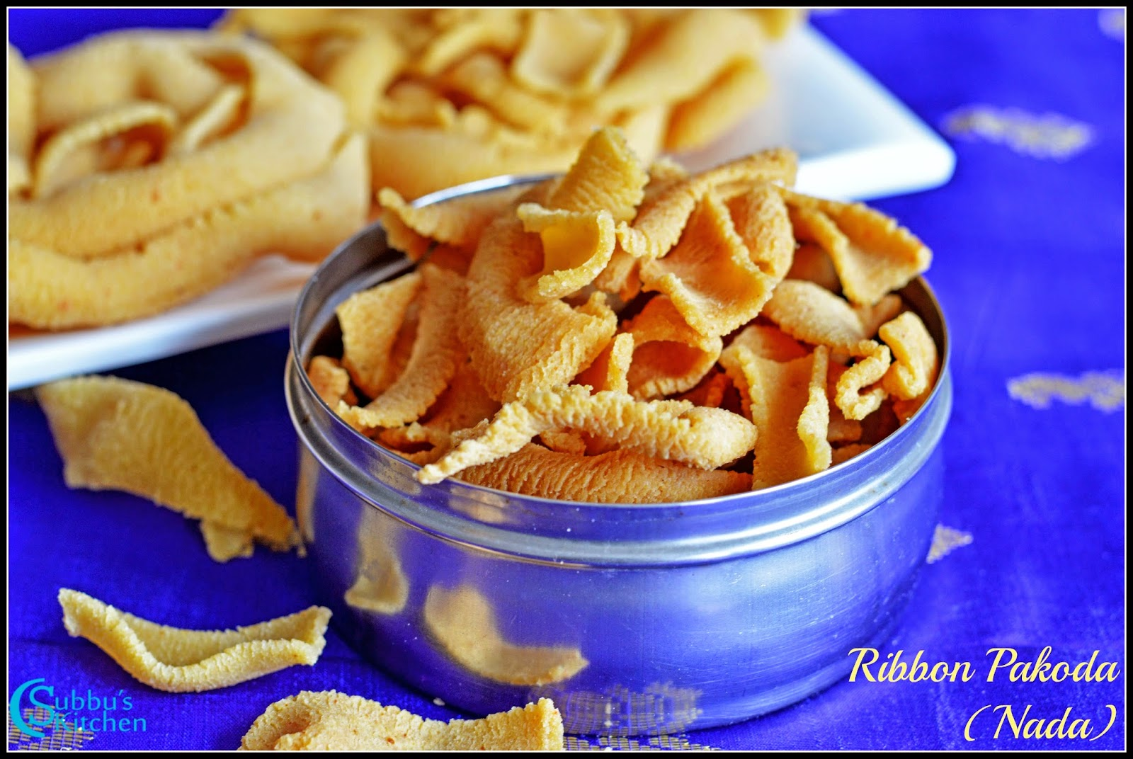 Ribbon Pakoda (Nada Recipe)