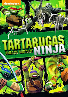 Tartarugas Ninja: Ameaça Mutante - DVDRip Dublado