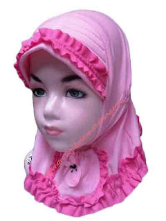 jilbab anak bayi
