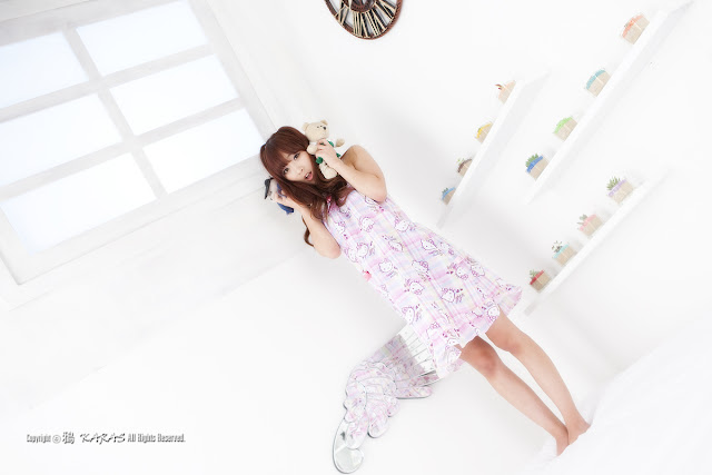 2 Minah and Hello Kitty-Very cute asian girl - girlcute4u.blogspot.com