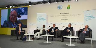 Em painel na COP-21, em Paris, governador José Melo defende compensação por serviços ambientais prestados pelo Amazonas