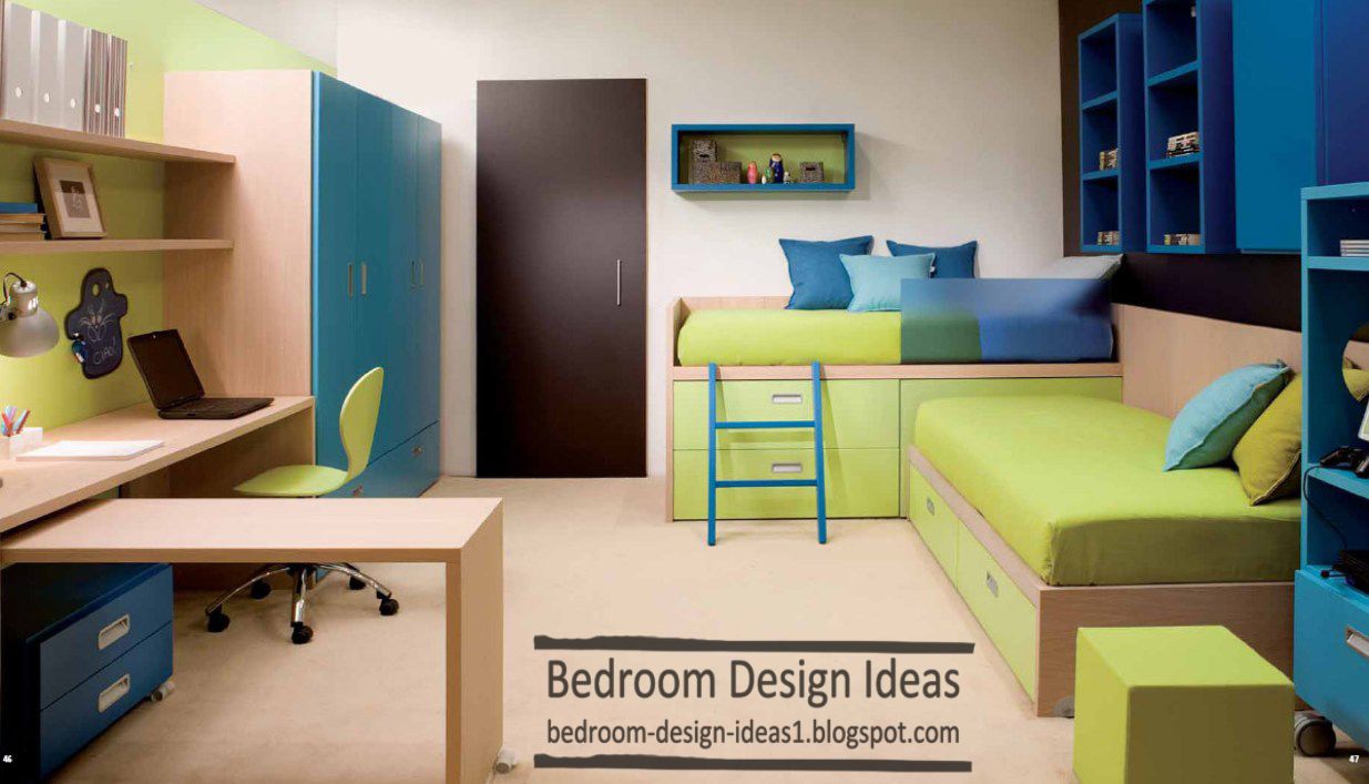 Small Bedroom With Two Beds 25 Small Bedroom Design Ideas For Kids Bedroom