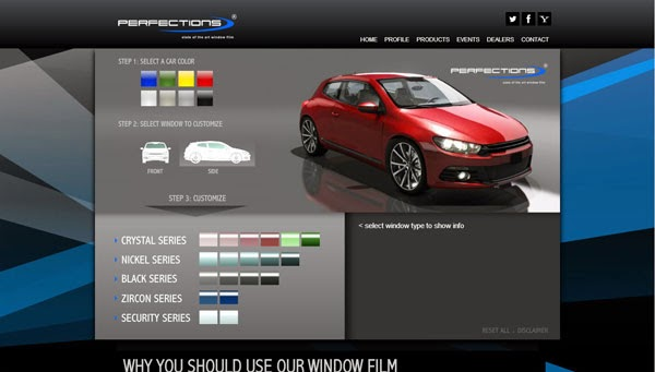 perfectionsfilm Window Film Simulator