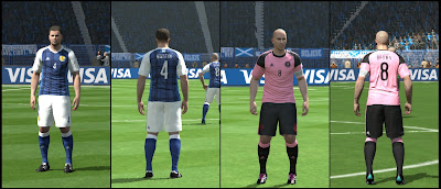PES 2016 Scotland 2016 Kits by MRI_20