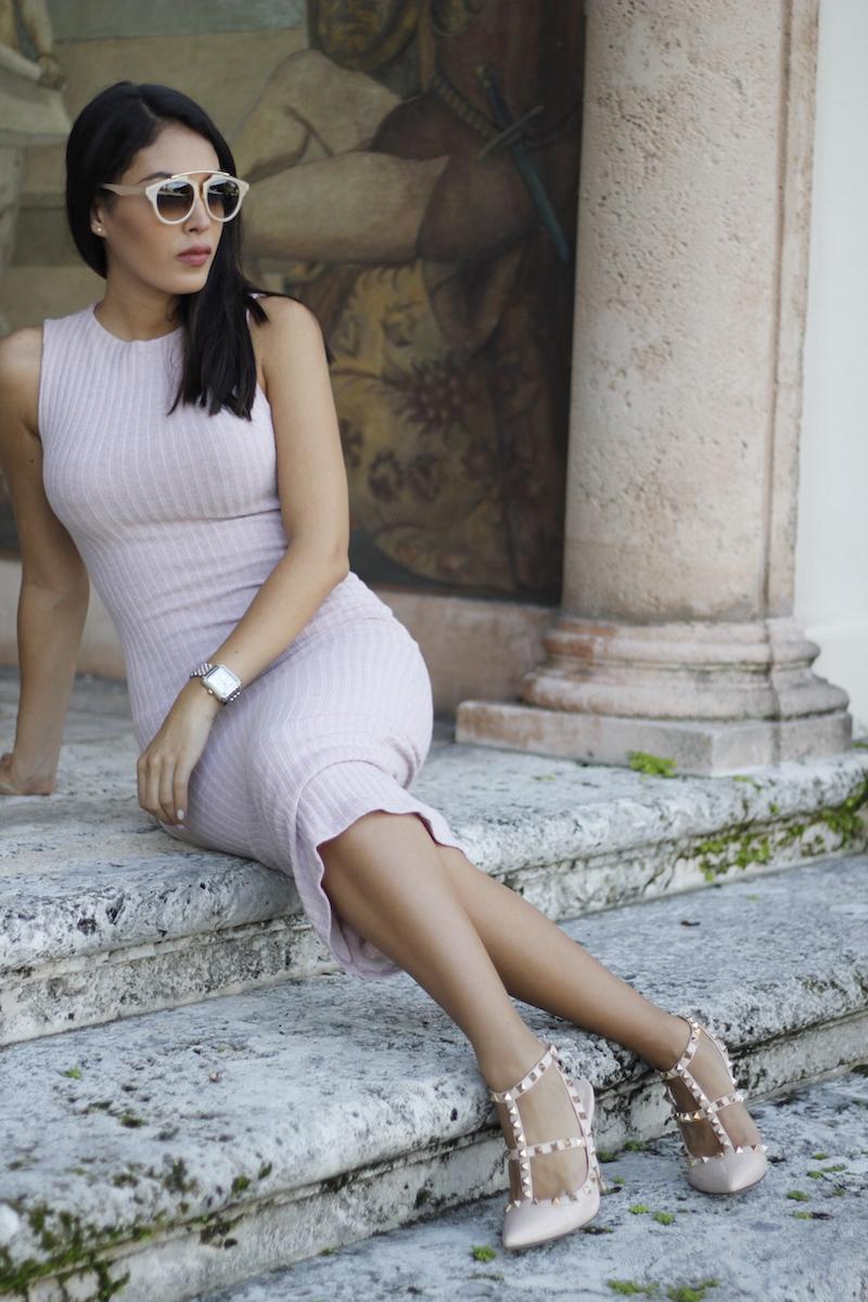 midi dress fitted