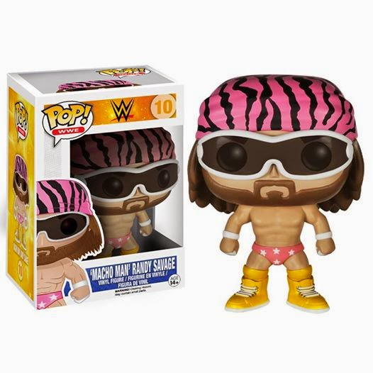 Funko Pop! Macho Man Randy Savage WWE exclusive