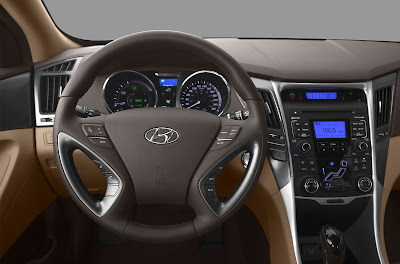 2012 Hyundai Sonata Hybrid Review Interior