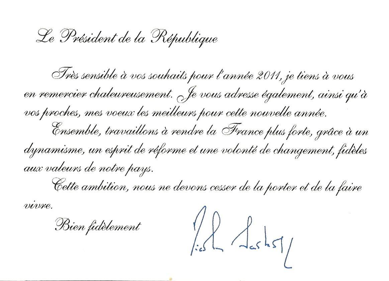 Blog timbr de ma philat lie voeux du pr sident de la r publique - Chef de cabinet du president de la republique ...
