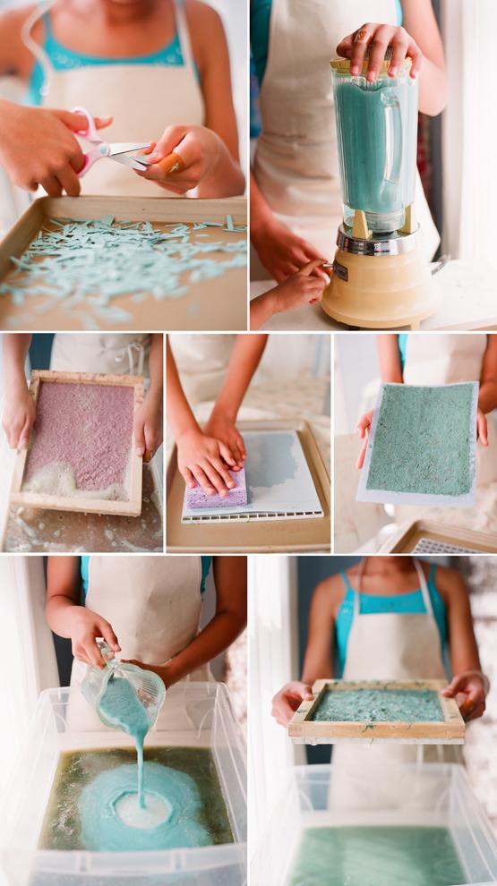 La silla turquesa tutorial reciclando papel - Como se hace el color turquesa ...