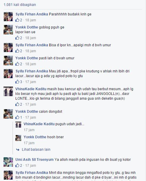 Komentar para netizen