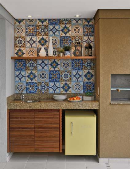 decorar lavabo antigo:Oficina de Arquitetura: Ladrilho hidráulico e Azulejos Estampados