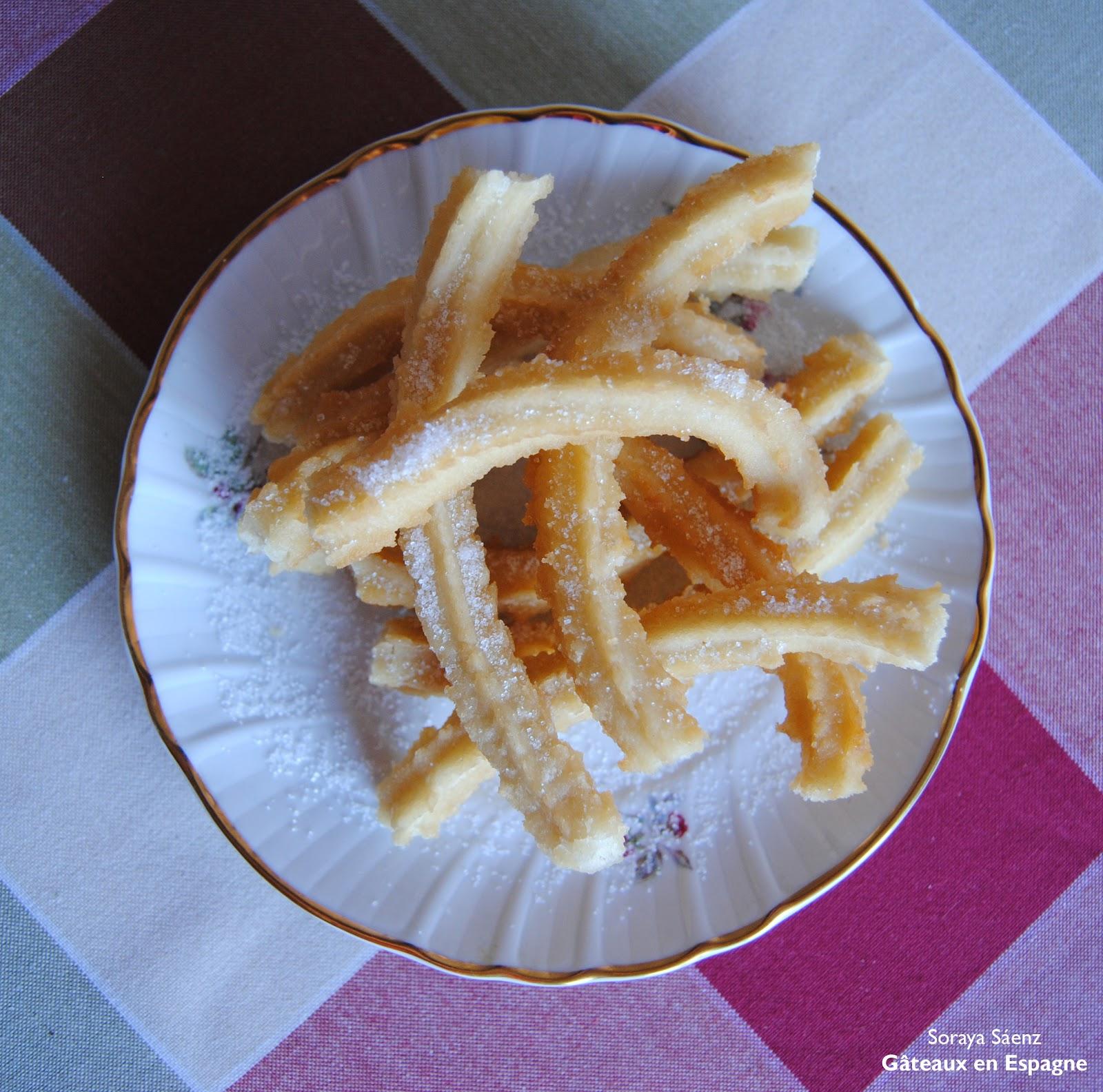 G teaux en espagne churros le petit d jeuner espagnol pour les dimanches - Gateau pour le petit dejeuner ...