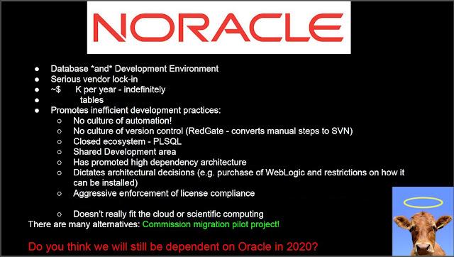 Noracle slide
