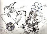 Anchiko y los cuatro Pequeños Centauros.
