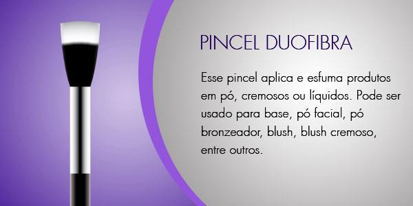 Pincel Duofibra ou DuoFiber