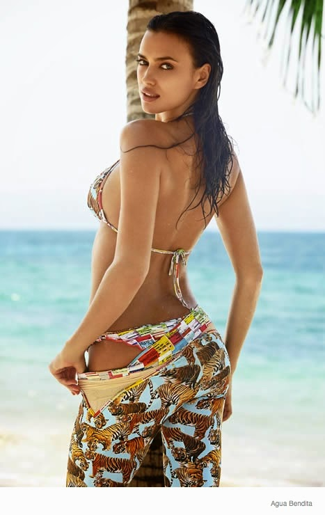Irina Shayk turns up the heat for Agua Bendita Swimwear's Spring/Summer 2014 Campaign