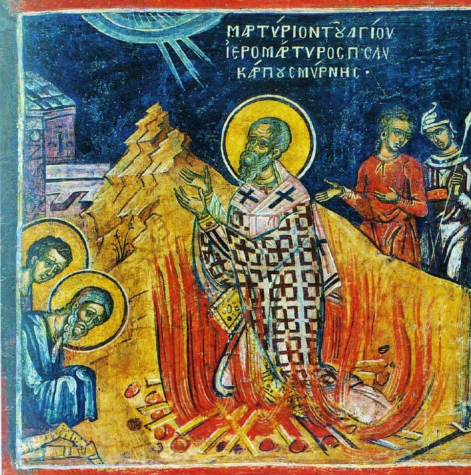 AtonementOnline: St. Polycarp of Smyrna