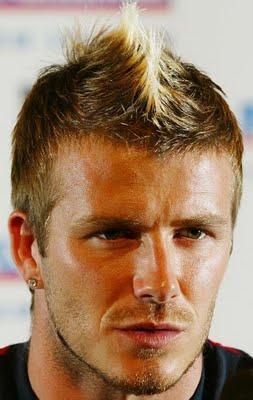 El peinado de David Beckham