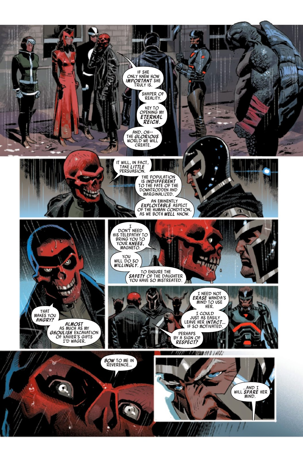 Review of Marvels Uncanny Avengers #25 by Rick Remender and Daniel Acuna