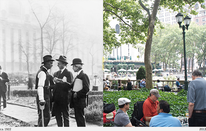 Interactive Photo Series Compares NYC's Past and Present