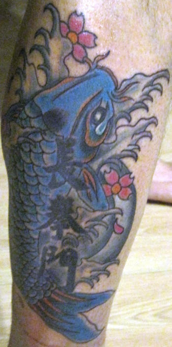 koi fish tattoos part 3 3d tattoos images. Black Bedroom Furniture Sets. Home Design Ideas