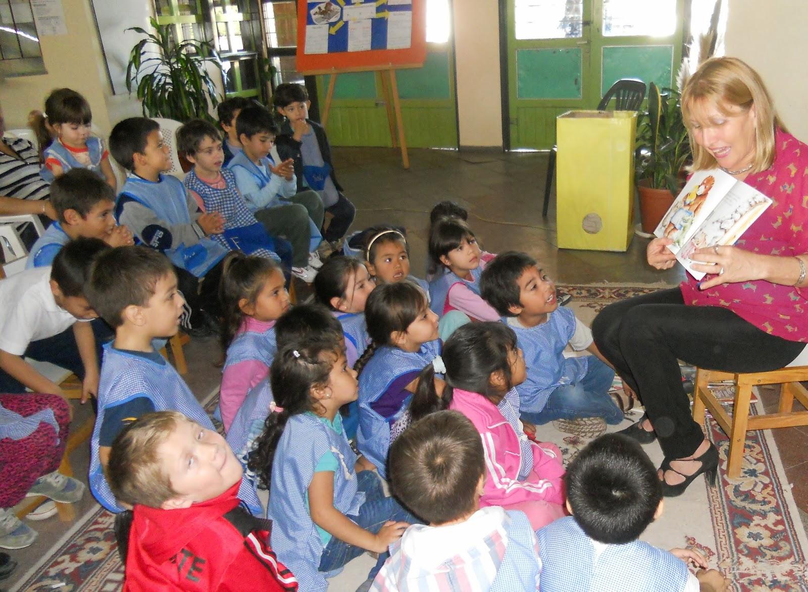 Plan lectura chaco compartimos la hermosa jornada de for Jardin de infantes