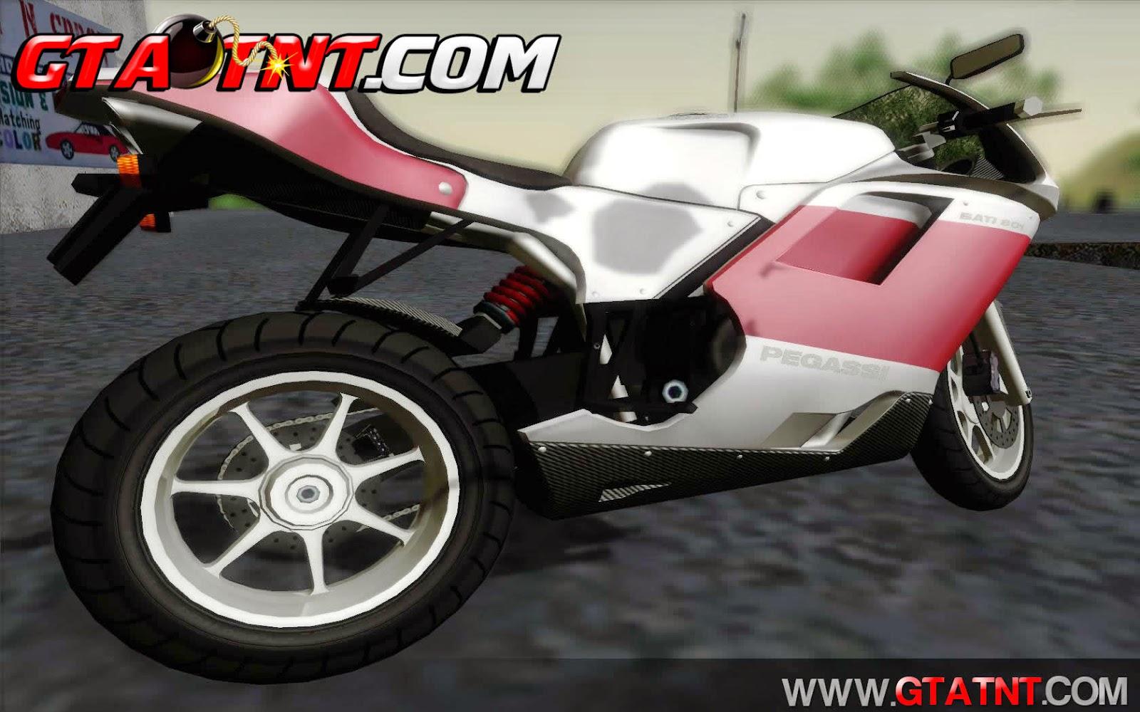Pegassi Bati 801 Convertido do GTA V para GTA San Andreas