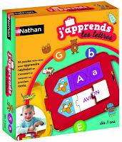 jeu éducatif : J'apprends les lettres
