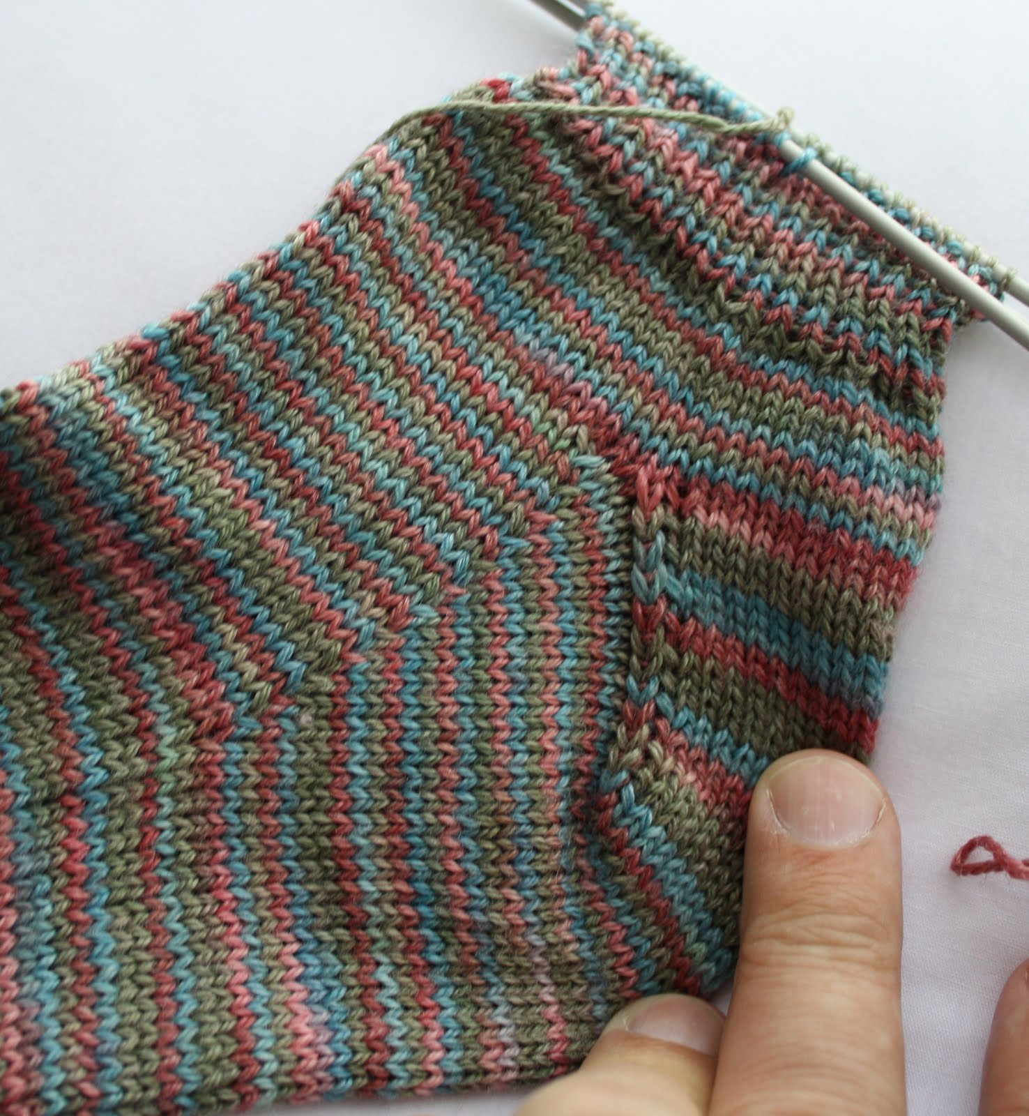 Knitting Picking Up Heel Stitches : QueerJoes Knitting Blog