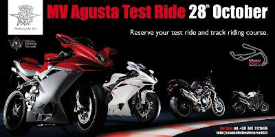 MV Agusta Test Ride
