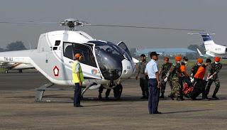 Evakuasi Korban Pesawat Sukhoi SuperJet 100