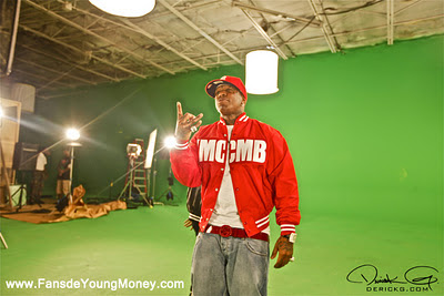 fotos raras del video del rodaje de sweat de bow wow lil wayne y birdman