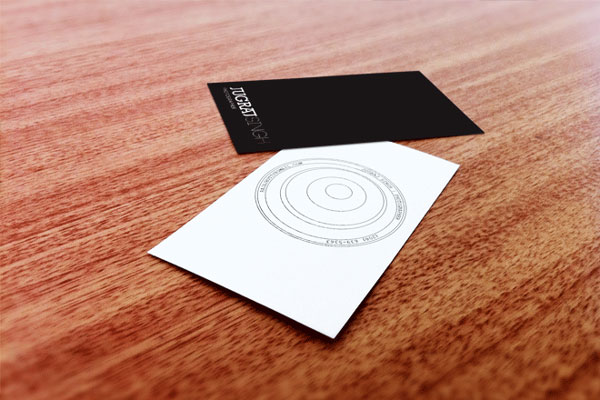 photography business card design