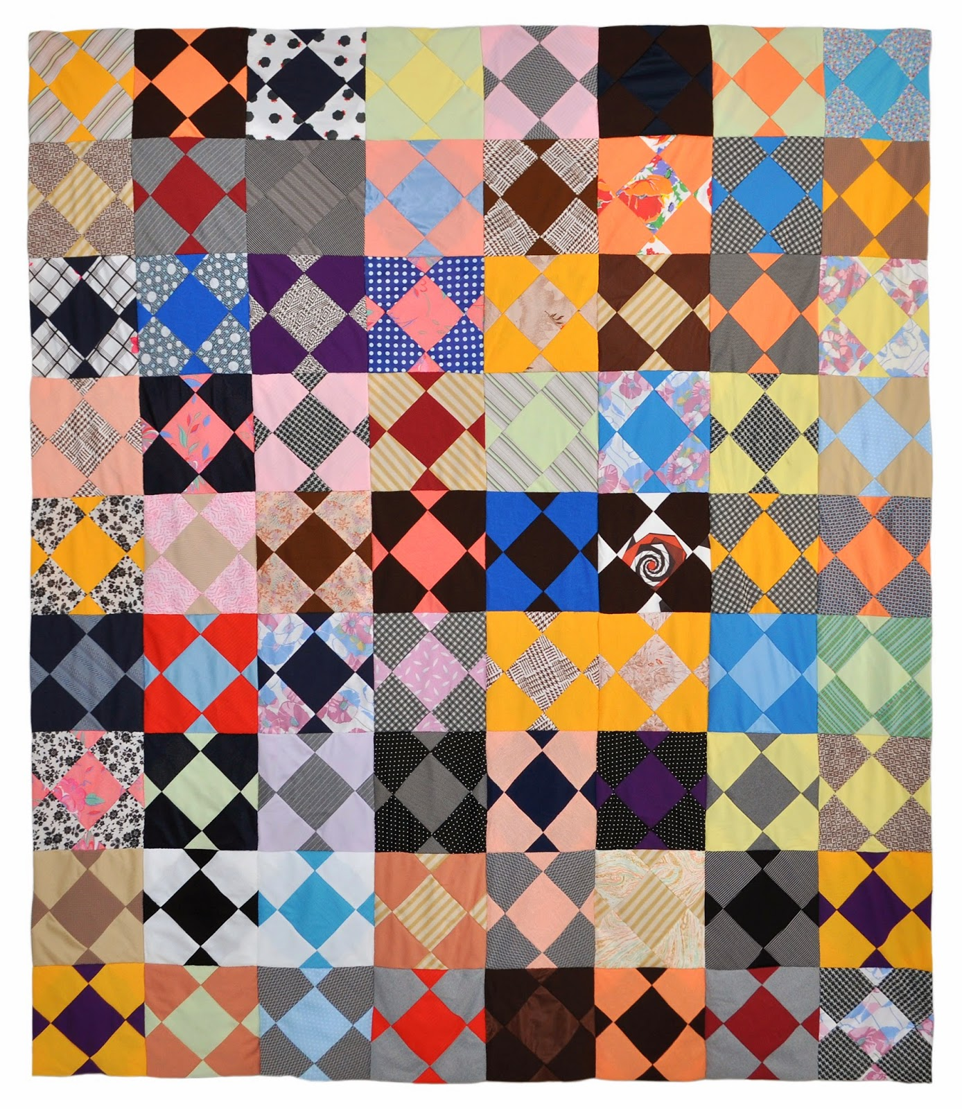 Wonkyworld Reversible Polyester Double Knit Quilt