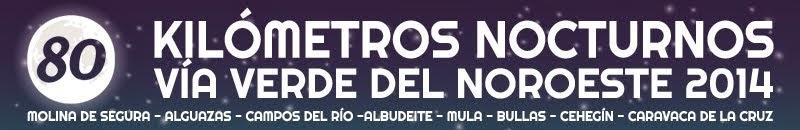 80 K Nocturnos Región de Murcia