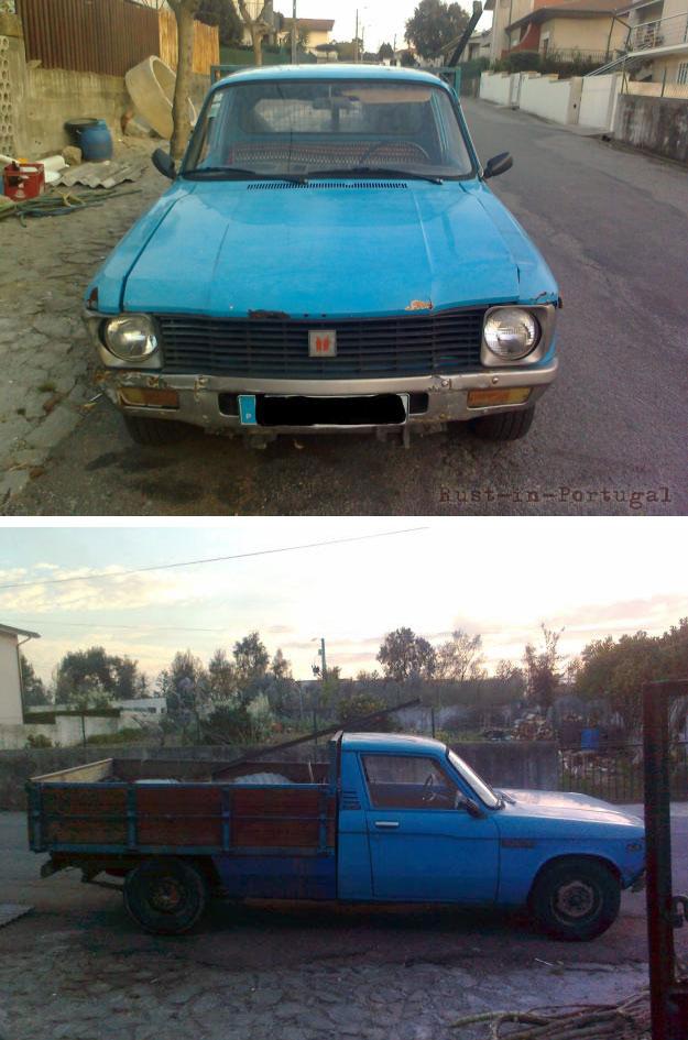 Rip Rust In Portugal 1980 Isuzu Kbd 25 Pickup