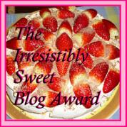 The Irresistably Sweet Blog Award