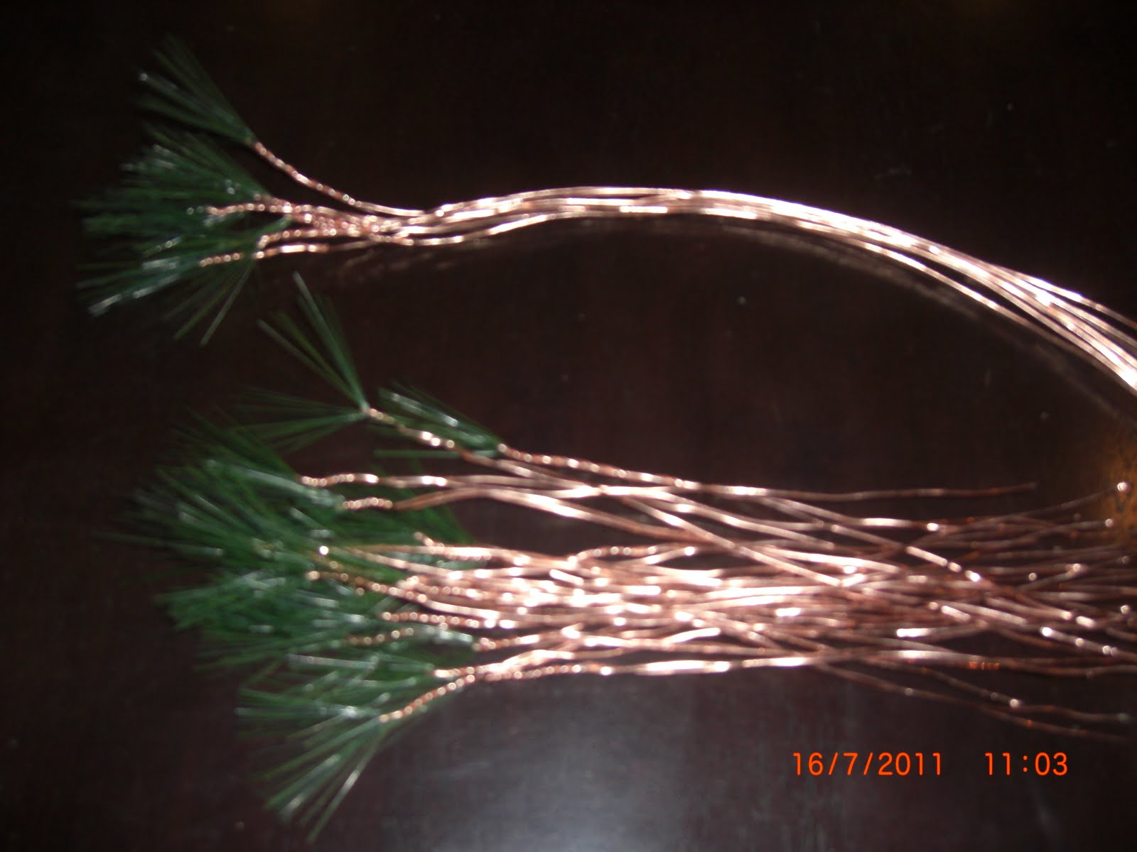 Michart Copper Wire Bonsai