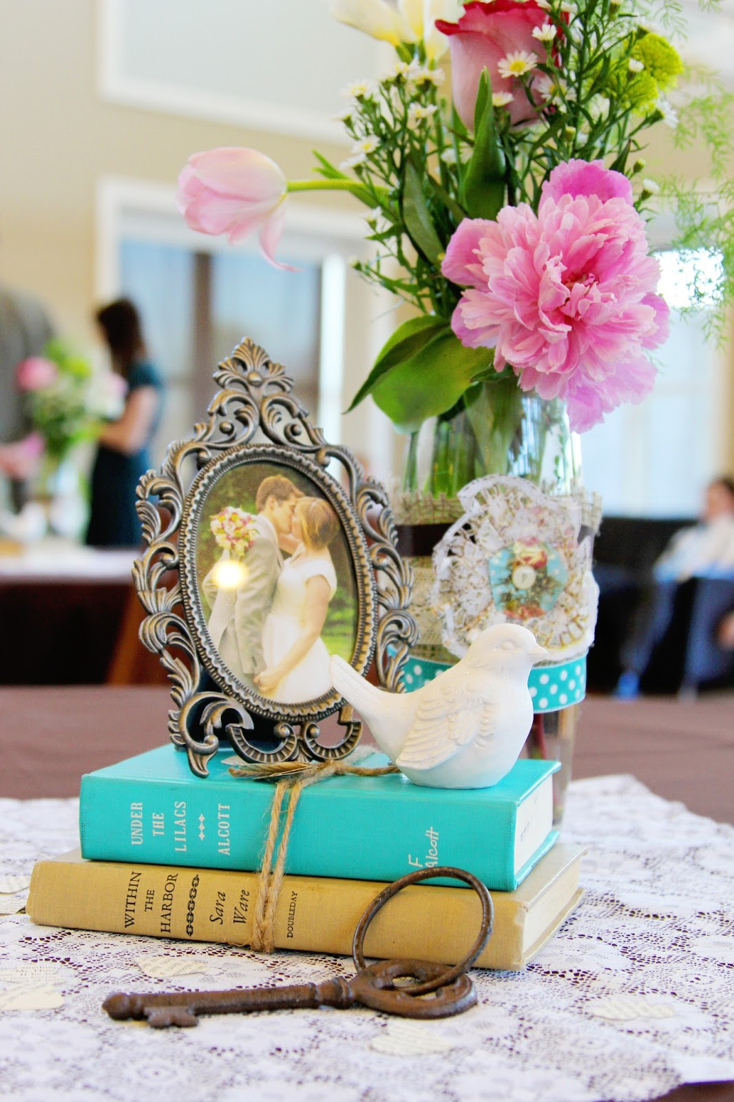 Mint of my life vintage wedding reception ideas