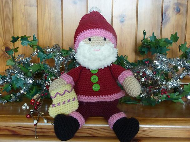 Funky Santa crochet toy patterns